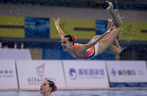全国冠军赛暨FINA花样游泳世界系列赛(中国站)开赛