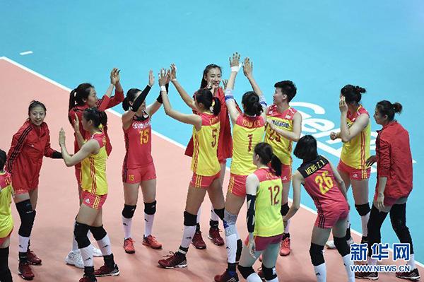 世界女排联赛中国队全员有出场机会,郎平表示