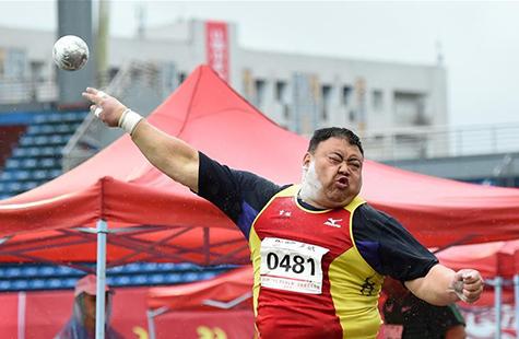 2018全国田径大奖赛(第四站)在重庆开赛