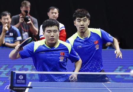 韩国公开赛:梁靖崑/闫安无缘男双半决赛