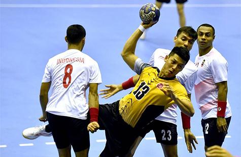 手球中国香港胜印度尼西亚