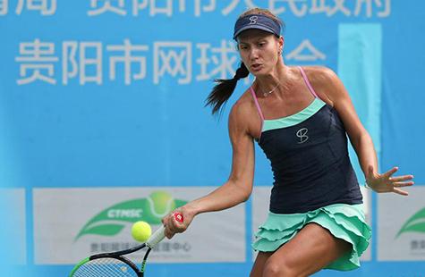 ITF国际女子网球巡回赛贵阳站:格萨诺娃夺冠