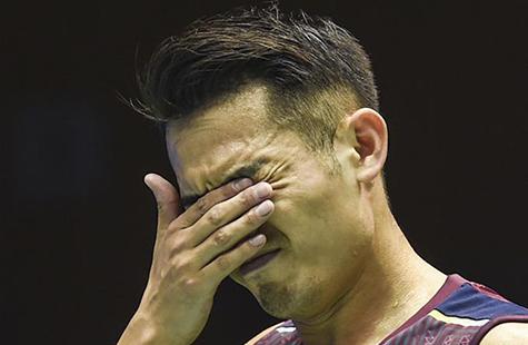 羽毛球中国公开赛:林丹无缘男单16强