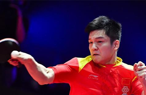 乒乓球——男子世界杯:樊振东晋级决赛