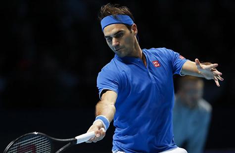 ATP年终总决赛小组赛:费德勒胜蒂姆