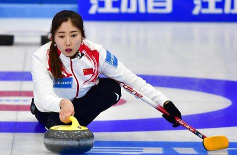 青海国际精英赛:中国女子B队战胜芬兰队
