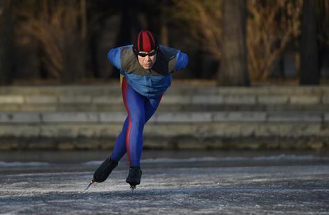 全民健身:冰场健身热