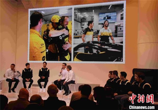 雷诺F1车队2020年赛季启动会举行 周冠宇任