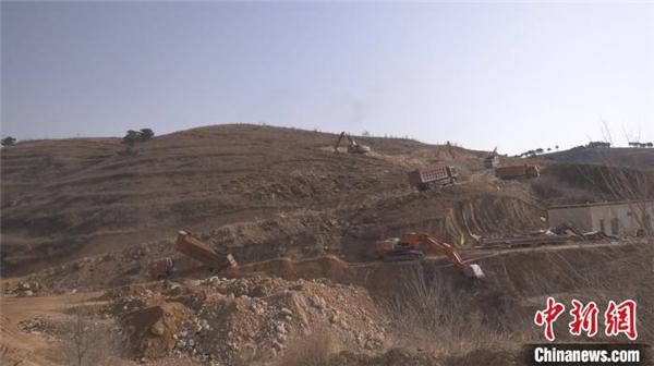 河北涞源国家跳台滑雪训练科研基地项目加快施工