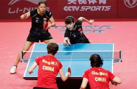 国乒奥运模拟赛团体首金出炉 三主将组女一团轻松问鼎