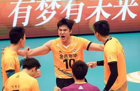 男排超级联赛:江苏逆转浙江 同上海会师决赛