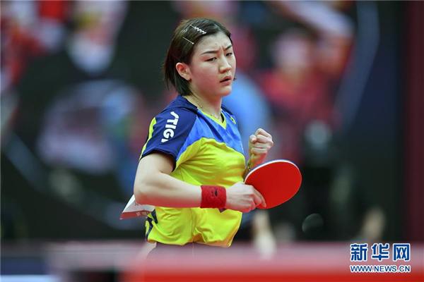 全国锦标赛:陈梦获得女子单打冠军