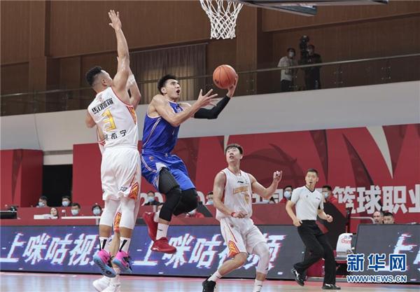 CBA季前赛:天津先行者胜深圳马可波罗