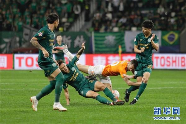 超甲升降级附加赛:武汉卓尔平浙江能源绿城