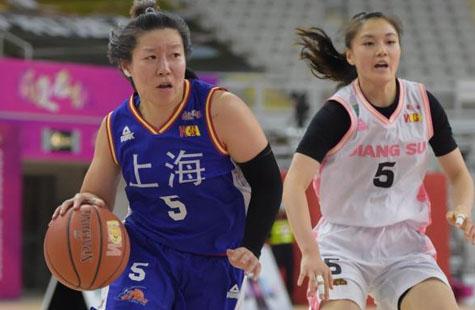 女篮联赛综合:江苏狂胜上海登顶