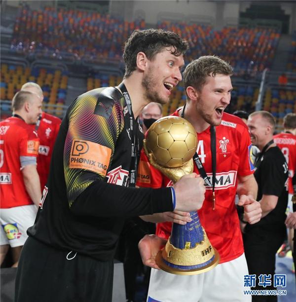 男子手球世锦赛:丹麦夺冠